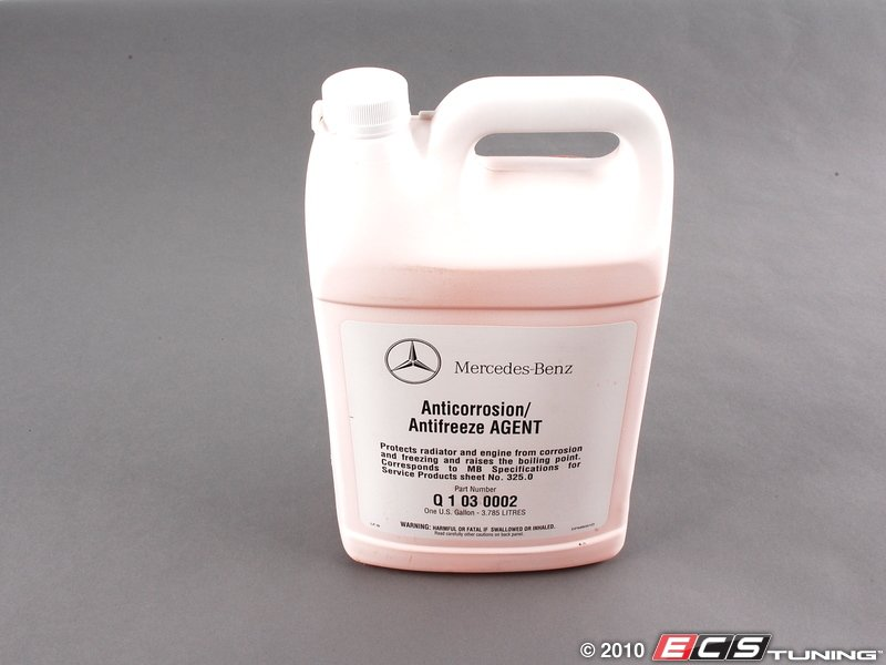 Es 1957090 w01331625880 coolant antifreeze mercedes for Mercedes benz coolant