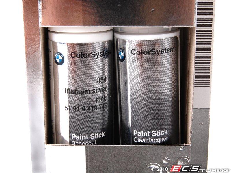 51910419745 Titanium Silver Metallic Touch Up Paint