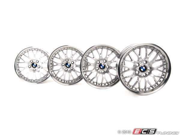 ES#2092668 - 3611033 - 17 Style 42 Cross Spoke Wheel - Set - (NO LONGER AVAILABLE) - Complete set of wheels to give your car a makeover - Genuine BMW -