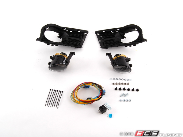 ES#2092642 - 5N0898002 - Fog Light Installation Kit - Everything you need to install fog lights on your Tiguan - Assembled By ECS - Volkswagen
