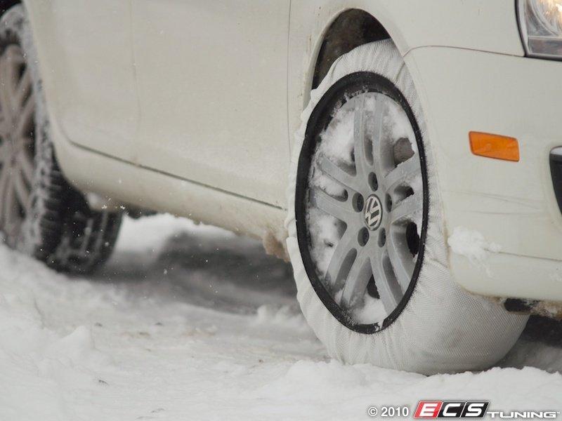 Ecs news isse textile snow chains c50074 super c 500 for Mercedes benz tire chains