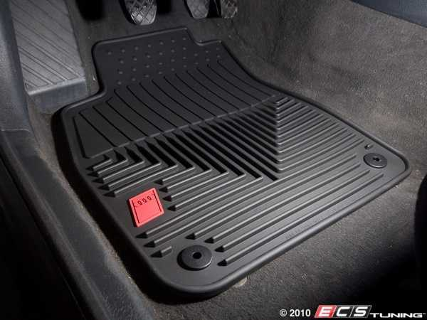 Es 3914 Zaw179004blk All Weather Rubber Floor Mats