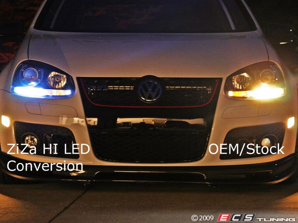 Mkv Smoked Side Markers And Ziza Led City Lights For Sale