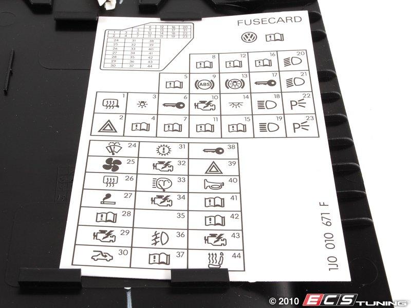 Mk4 Golf Fuse Box Radio : Instrument panel fuse box diagram get free image about