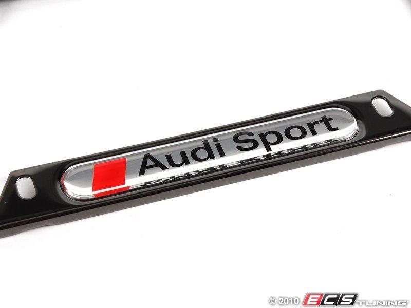 Dorable Audi Sport License Plate Frame Frieze - Framed Art Ideas ...