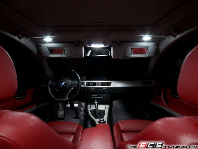 Ecs News Bmw E92 Led Interior Lighting Kit
