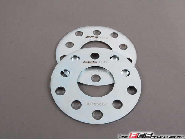 ES#117 - 002353ECS01A03KT - ECS Wheel Spacers - 3mm (Pair) - Exclusively built for your Volkswagen or Audi - Manufactured from high strength steel - ECS - Audi Volkswagen