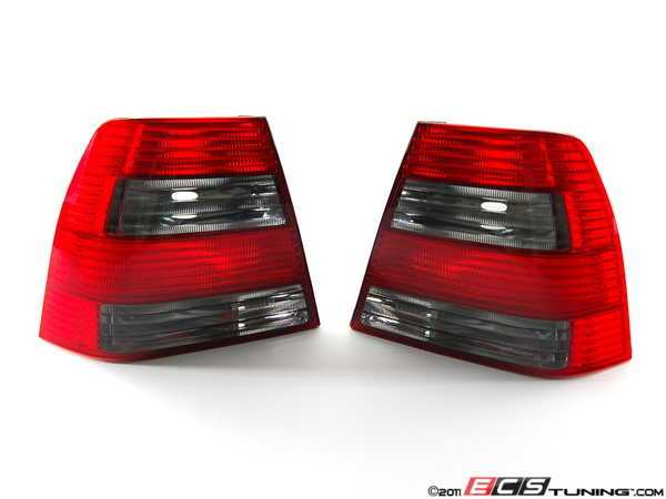 Smoked GLI Tail Light - Pair