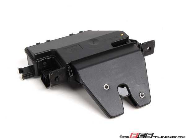 Trunk Lid Latch/Lock