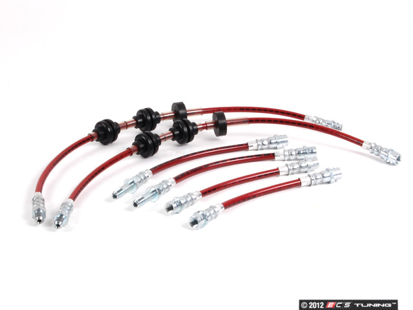 Exact-Fit Stainless Steel Brake Lines - Kit