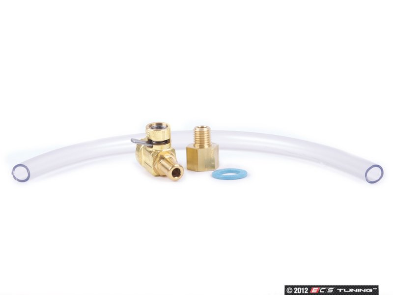 f106n - oil drain valve with adapter