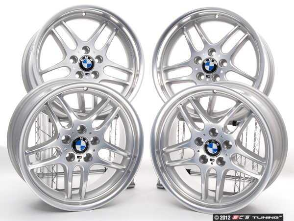 ES#2215189 - 3611222963540 - 18 Style 37 M-Parallel Wheel - Staggered Set Of 4 - 18x8 ET20/18x9 ET24 74.1CB 5x120 - Genuine BMW - BMW