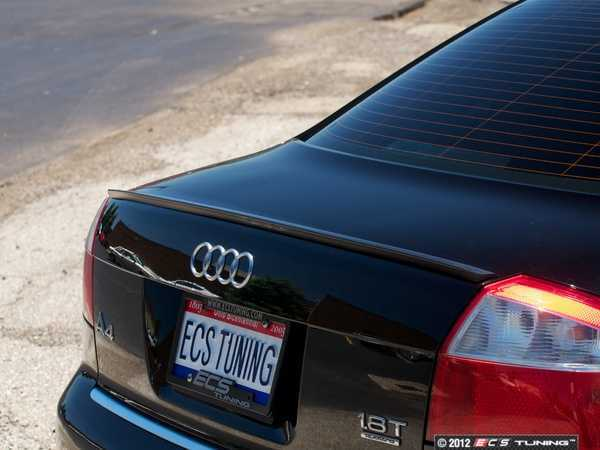 ES#252360 - LS-43-1 - Rear Lip Spoiler - Add a touch of class to your Audi - ECS - Audi