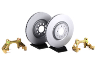 Front Big Brake Kit - Plain Rotors