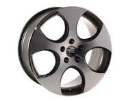 18 Style 615 Wheels - Set Of Four - Gunmetal / Machined Face