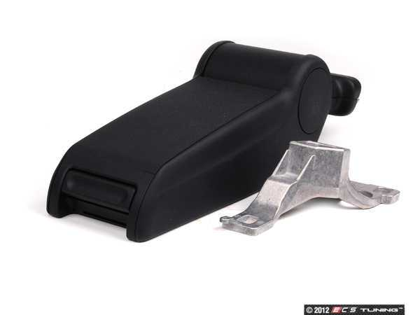 ES#431366 - 8D0864207AJ6DP - Center Armrest - Lower Section - Onyx - Replace your broken or faded piece - Genuine Volkswagen Audi - Audi