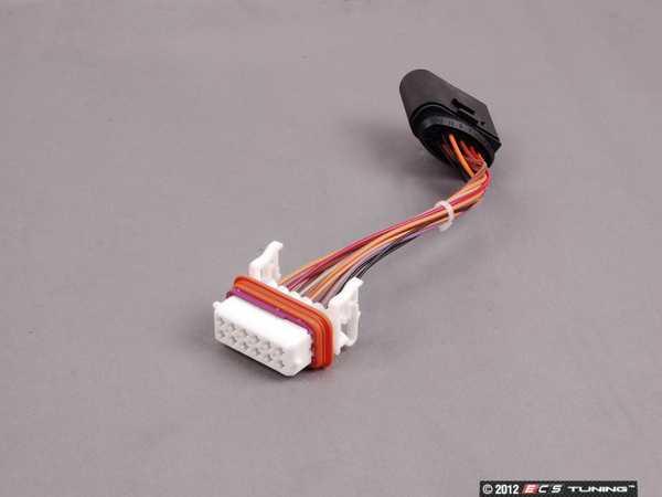 2006 porsche cayenne turbo s v8 4 5l lighting 95563123910 headlight wiring harness priced