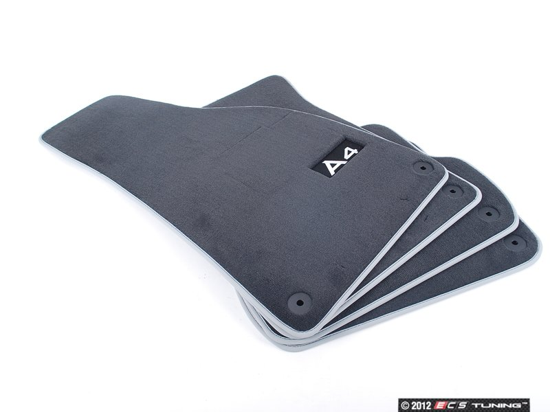 audi b6 a4 fwd v6 30v interior floor mats 8e1061270pmno. Black Bedroom Furniture Sets. Home Design Ideas