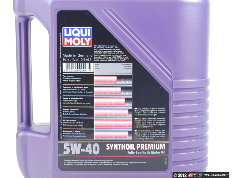 2041 synthoil premium engine oil 5w 40 5 liter es for How long does synthetic motor oil last
