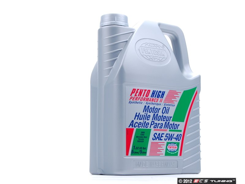Pen 5w 40 5l pento high performance ii engine oil 5w 40 for The best motor oil in the world