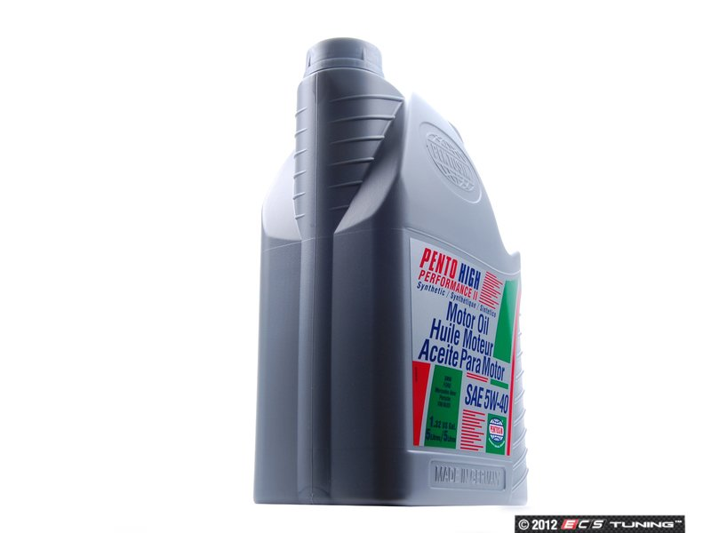 Pen 5w 40 5l pento high performance ii engine oil 5w 40 for Best motor oil in the world