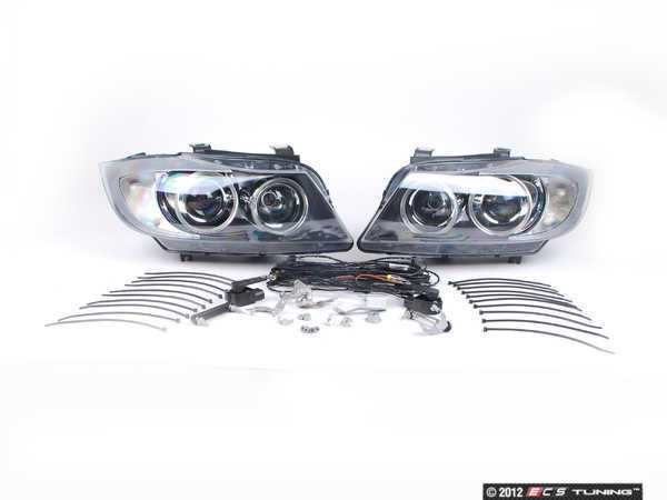 ES#9941 - 63130395396 - European Bi-Xenon Headlight Kit - Drastically improve lighting performance  your BMW#39;s appearance with this Euro Spec light kit - Genuine European BMW - BMW
