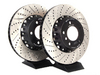 ES#2550968 - 000506ECS01AKT - 2-Piece Brake Rotors - Pair (338x26) - Direct bolt-on replacement - 20% less weight! - ECS - BMW