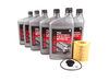 ES#2568692 - 11427640862KT - Oil Service Kit - Includes six quarts of BMW synthetic engine oil, filter with o-ring, and drain plug with o-ring - Genuine BMW - BMW