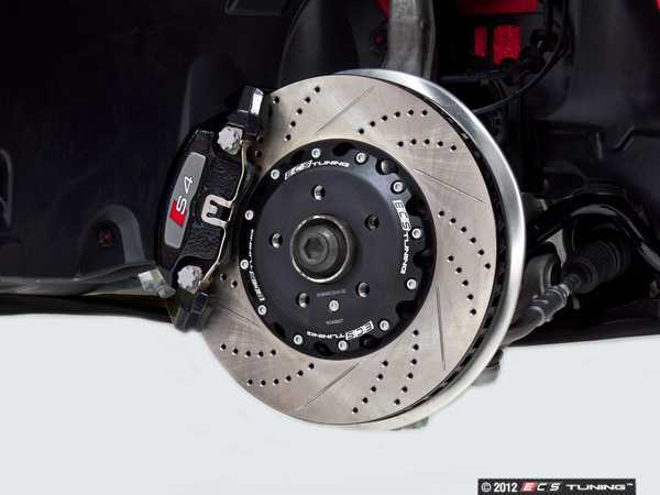 Ecs Tuning Audi B8 S4 S5 2 Piece Brake Rotors