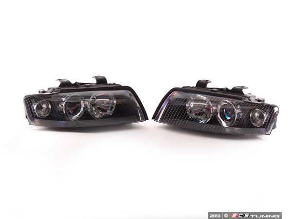 ES#4419 - 088610088611 - European Xenon Blackout Headlight Set - Upgrade your exterior light to the Euro look - Valeo - Audi