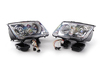 ES#2612387 - 1J5698001BG - European HID-Capable Headlights - Pair - With fog lights and amber turn signals - Helix - Volkswagen