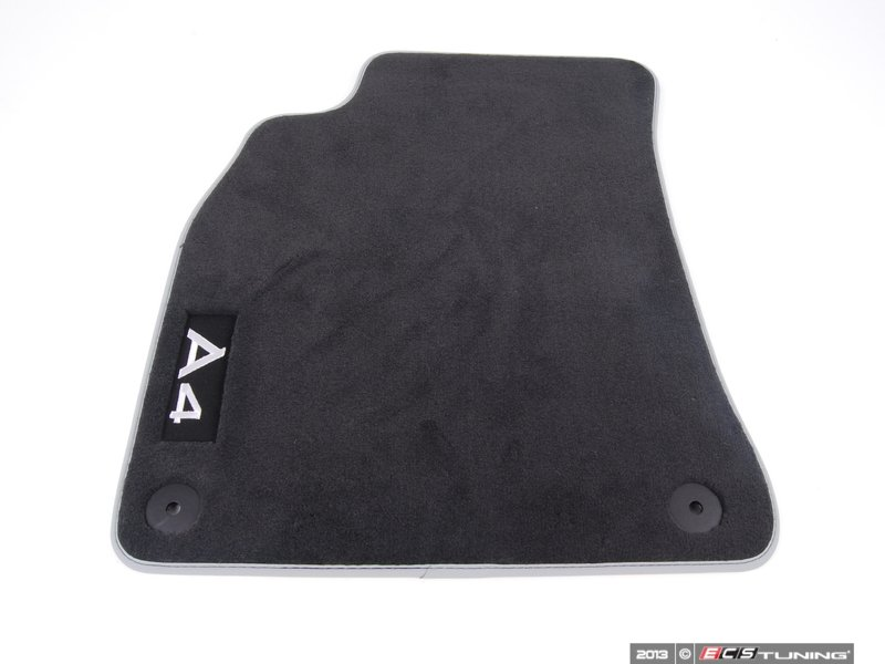 audi b8 a4 quattro 2 0t interior floor mats 8k1061275mno. Black Bedroom Furniture Sets. Home Design Ideas