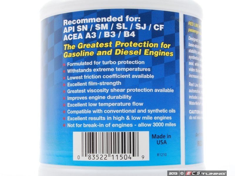 ES#2602161 - 11504 - Engine Oil (15w-50) - 1 Quart - A fully synthetic