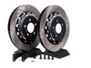 ES#2404 - MK4TTS1RVKXS - Stage 1 Rear Big Brake Kit - Cross-Drilled & Slotted 306x22mm Rotors - Increase your braking power without breaking your wallet - ECS - Audi Volkswagen