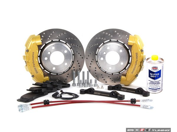 ES#2215444 - 34113646 - ECS 6-Piston Front Big Brake Kit (325X25) - Give your BMW incredible stopping power! - Assembled By ECS - BMW