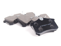ES#2526392 - D1192D - Rear Deluxe Brake Pad Set - Ceramic based replacement brake pad - PBR - Audi Volkswagen