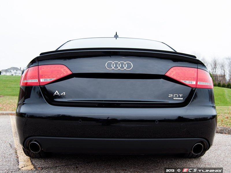 Ls48 4 Audi B8 A4 S4 Trunk Lip Spoiler Es 2702249