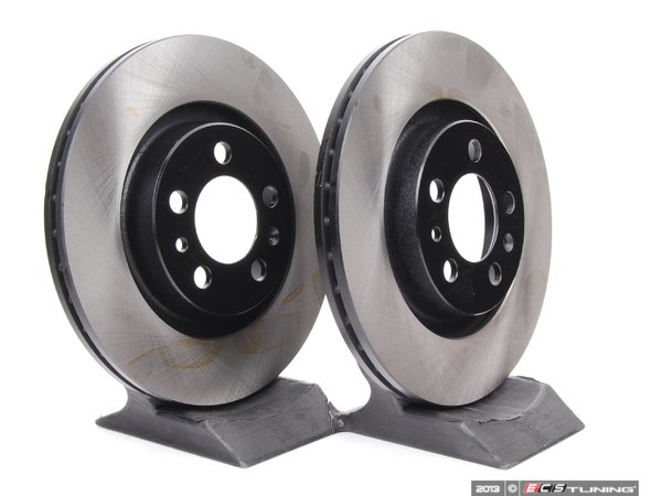ES#248405 - 1J0615301MKT4 - Front Brake Rotors - Pair (280x22) - Quality aftermarket brake components. - OP Parts - Volkswagen