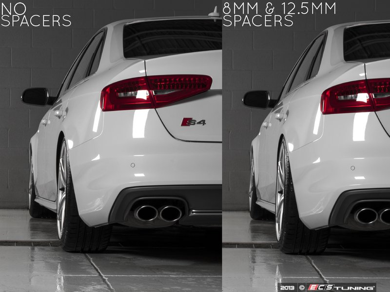 Ecs Tuning Ecs Flush Fit Wheel Spacers Audi B8 S4
