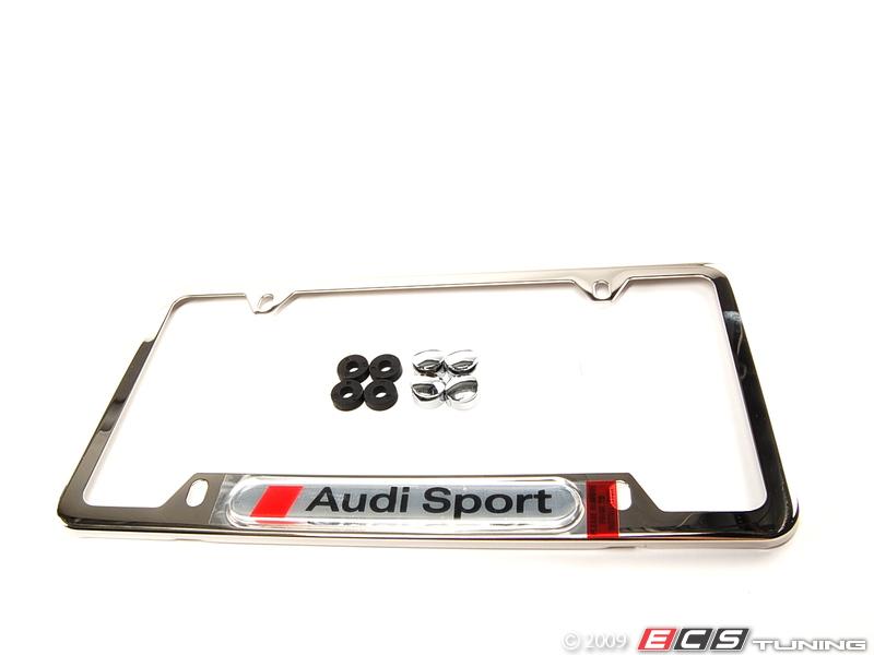 Audi Sport Logo Audi Sport License Plate