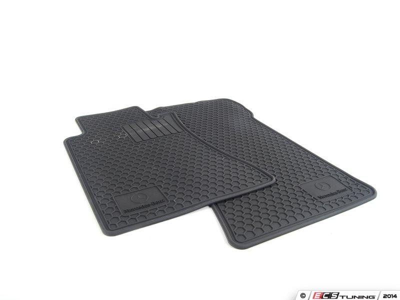 Es 1828004 q6680697 all season floor mats black for Mercedes benz ml350 rubber floor mats