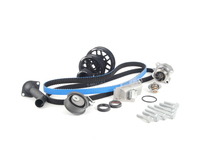 ES#5138 - 06B198479V2UDBLK - Timing Belt Kit - Ultimate With Gates Racing Timing Belt  Performance Pulley Set - Includes ECS Tuning#39;s Lightweight Underdrive Pulley Kit in Black! - Assembled By ECS - Audi Volkswagen