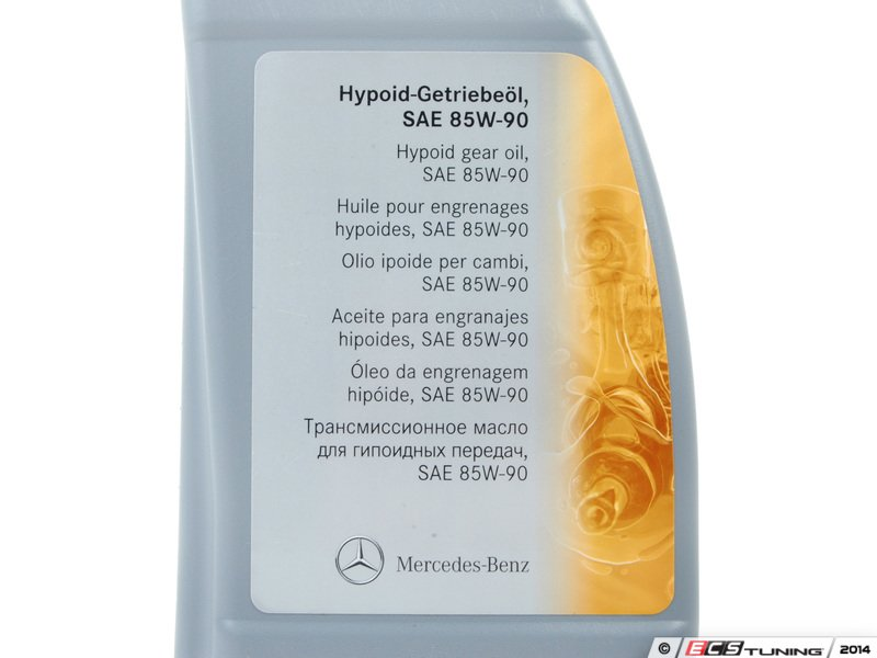 Search gear oil 000989280312 85w 90 hypoid gear oil for Mercedes benz recommended oil
