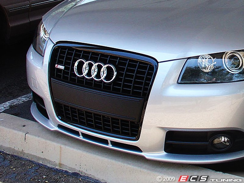 2007 pre facelift a3 8p black front grill audi. Black Bedroom Furniture Sets. Home Design Ideas