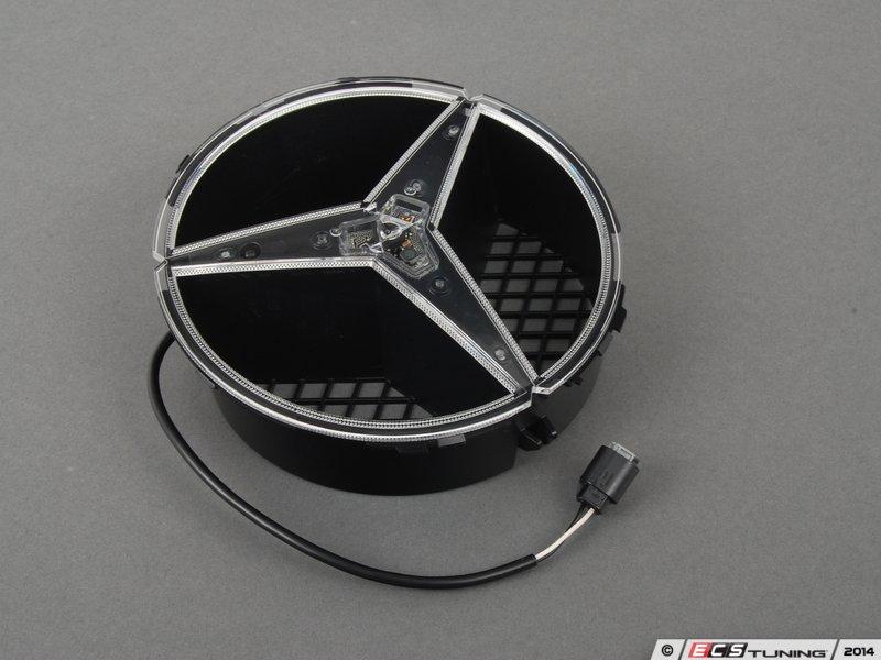 Es 2638298 2078170416 illuminated mercedes benz star for Mercedes benz illuminated star installation