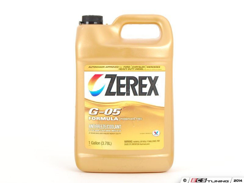 Zxg051 coolant antifreeze 1 gallon es 2142836 for Mercedes benz coolant