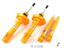 ES#261018 - MK4SPORT - Sport Shocks & Struts - Set Of Four - Adjustable sport tuned suspension for aggresive handling - Koni - Volkswagen