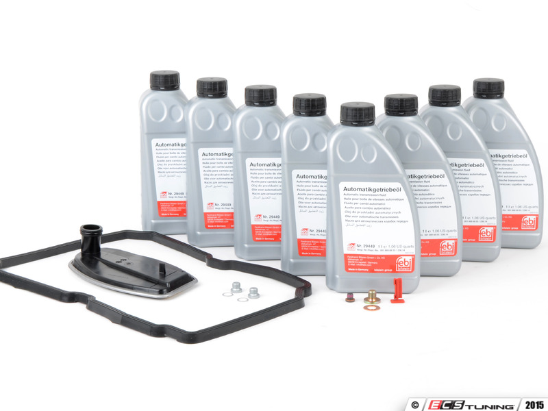 Ecs tuning 722 6 transmission service kits mbworld for Mercedes benz transmission fluid change