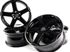 ES#253181 - 1K0071498AX1-4 - 18 Karthoum Wheel - Set Of Four - 18x8 ET50 5x112 alloys in black  - Volkswagen Zubehor - Volkswagen