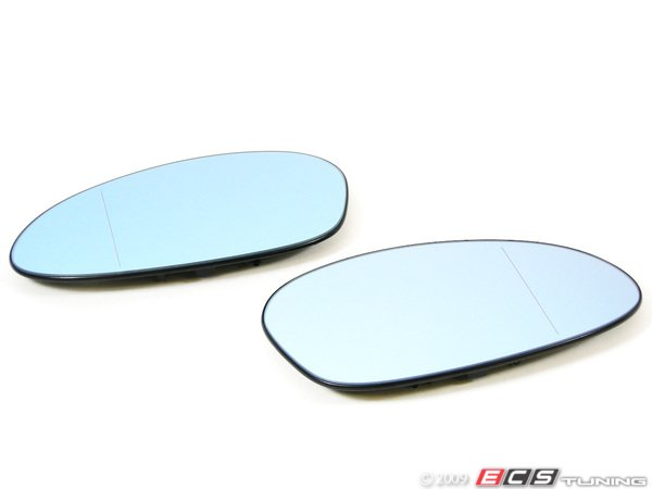 ES#251356 - 7145267268 - M3 European Heated Blind Spot Mirrors - Set - With blue tint to help you see everything on the road  - Genuine European BMW - BMW